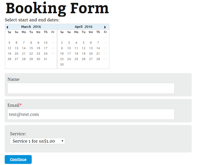Features booking calendar contact form booking contact forms thecheapjerseys Choice Image